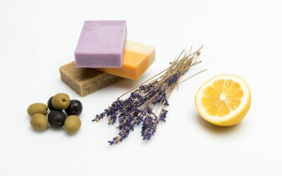 Lavendelöl Seife