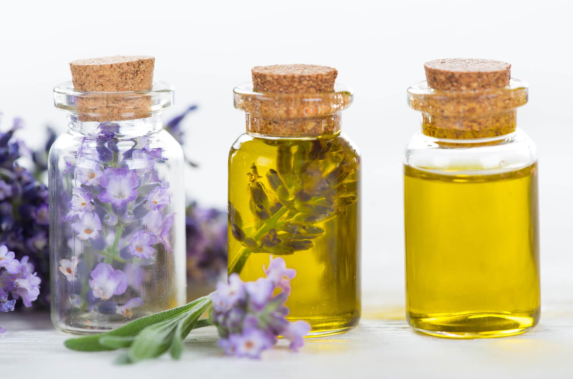 Lavendelöl in 3 Flaschen