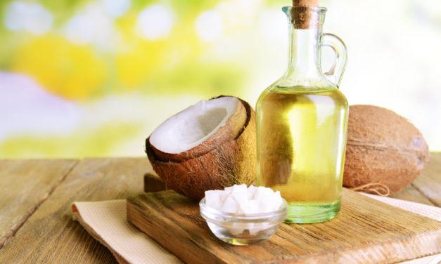 Kokosnussöl für Haut und Haare